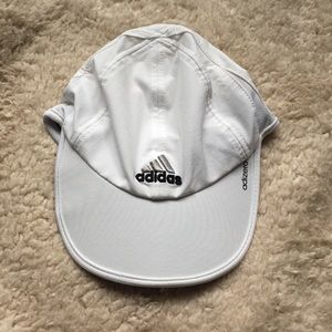 Adidas White Run Cap